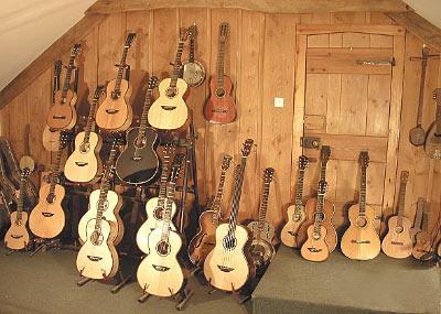 Many Guitars