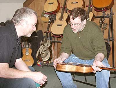 John Bell and Simon