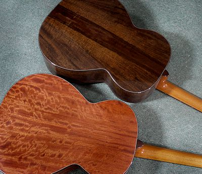 Brook Guitars walnut