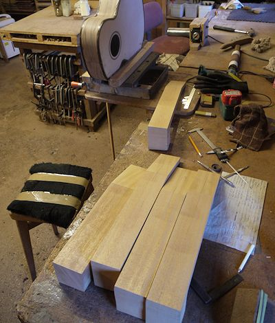 Brook Guitars Kevs Bench