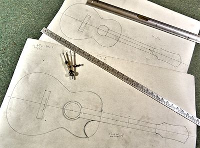 Brook Guitars image plans