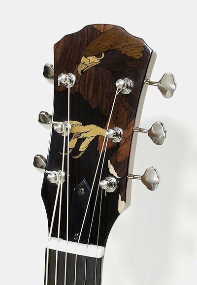 Brook Guitars inlay