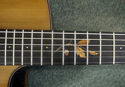 Brook Guitars Tavy inlay