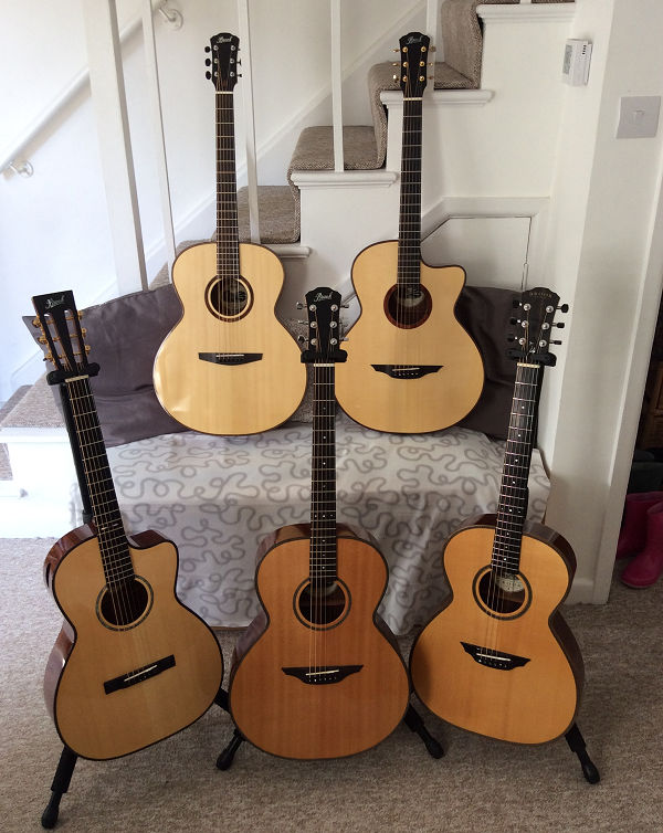 A bevy of Brook Guitars News Archive 2016-2015
