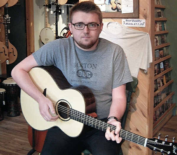 Liam at Celtic Chords News Archive 2016-2015