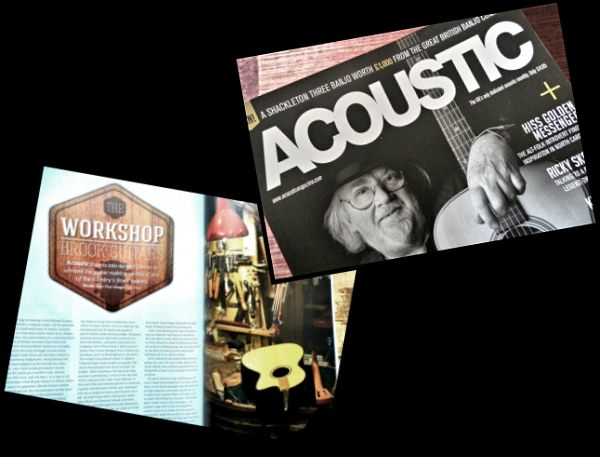 Acoustic Article on Brook Guitars News Archive 2016-2015