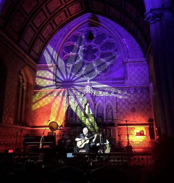 Tony Hazzard at The Convent News Archive 2016-2015