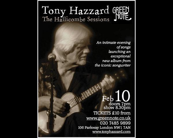 Tony Hazzard Poster News Archive 2016-2015