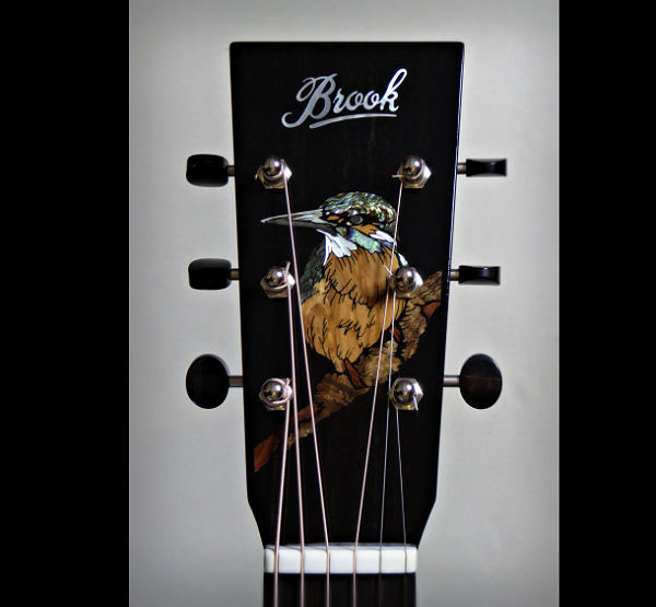 Brook OM Kingfisher Inlay News Archive 2016-2015