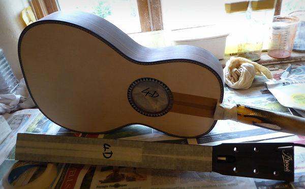 Brook Parlour Guitar in Sprayshop News Archive 2016-2015