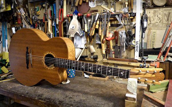 Norman Wood Guitar at Brook Guitars News Archive 2016-2015
