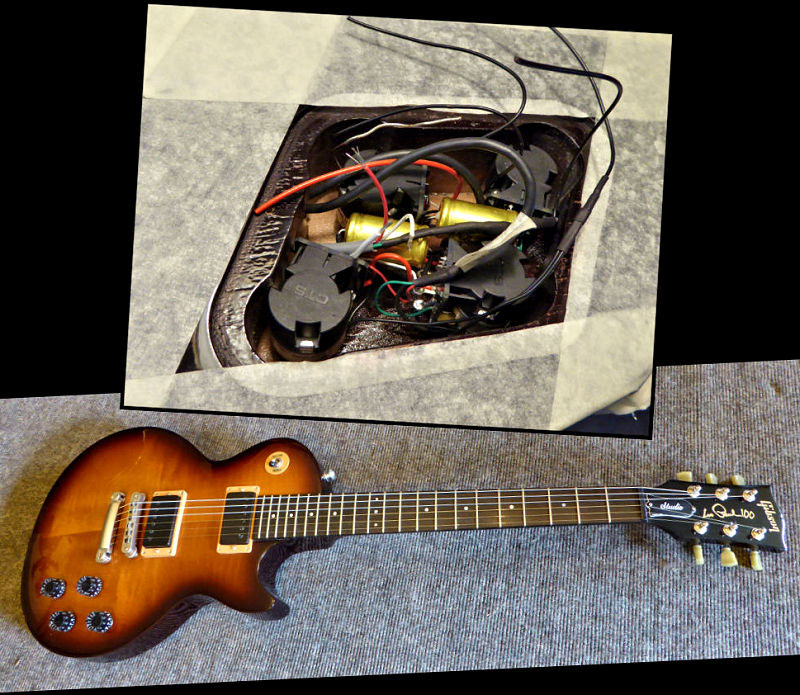 Brook Guitars Gibson Re-wire