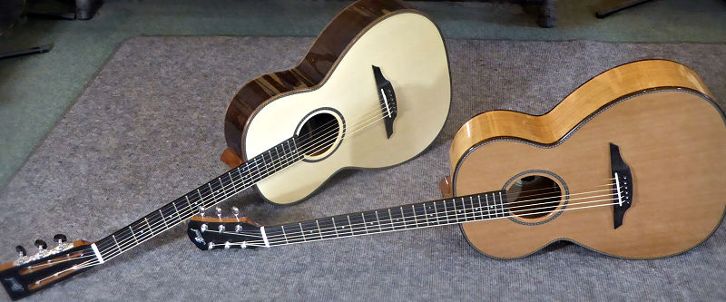 Two Brook Guitars for Intersound