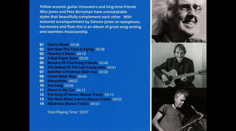 Wizz and Pete back cover