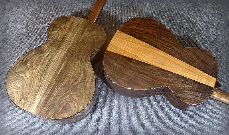 Two Walnut Brook Guitars