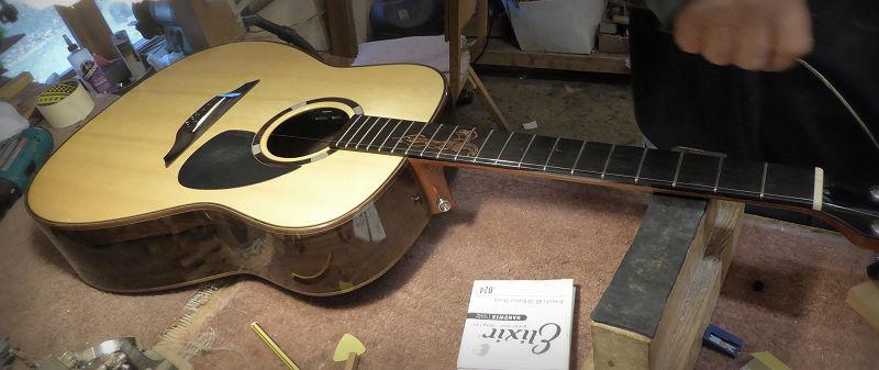 Brook Guitars Teign With Inlay