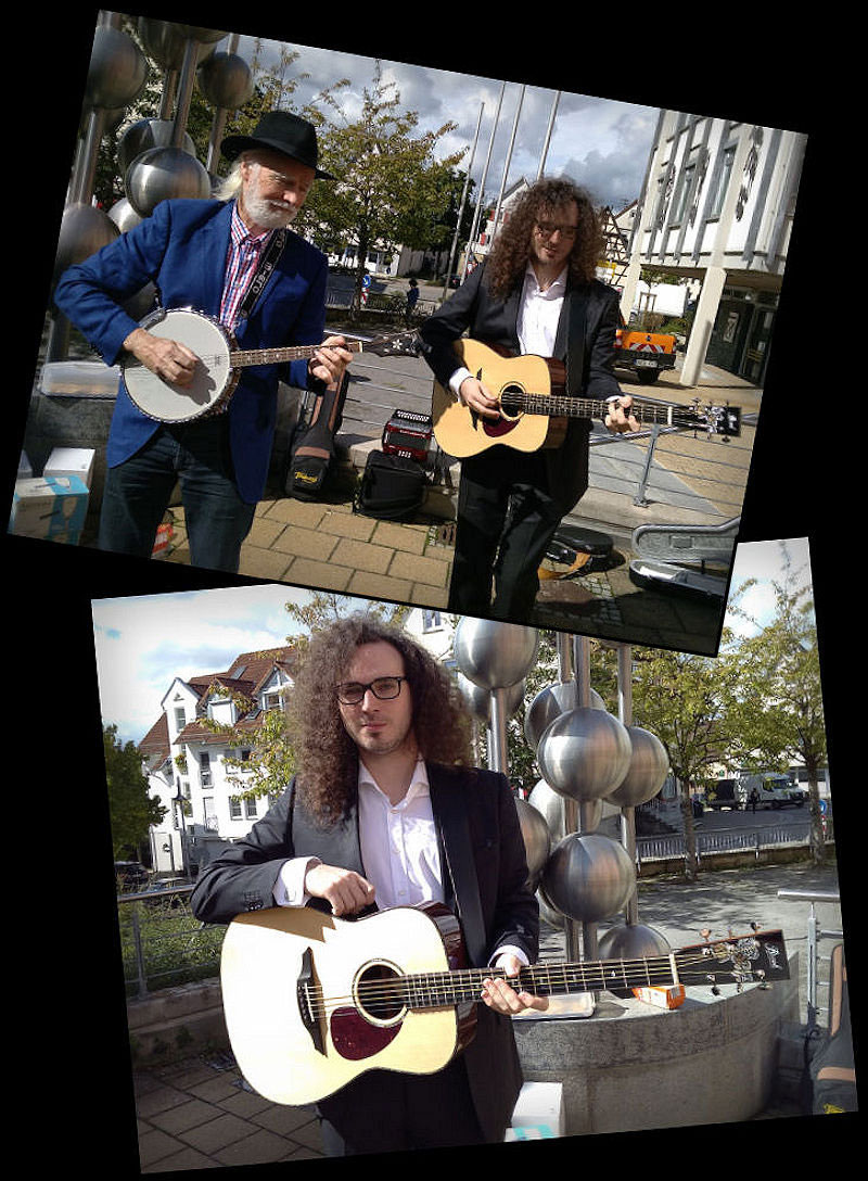 Peter Nicholas and Brook Teign