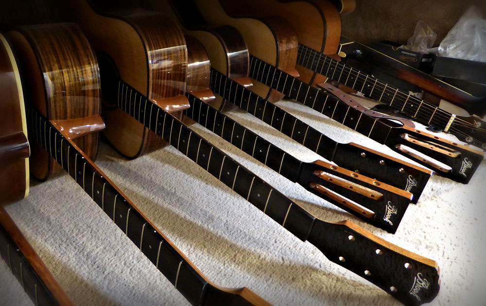 5 Brook Guitars for Coda Music