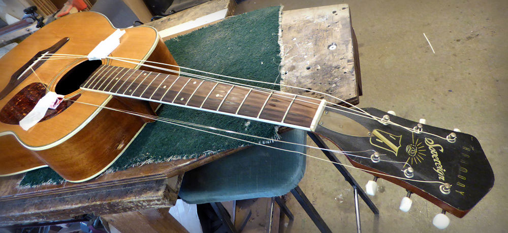 Harmony Sovereign Brook Guitars Repair
