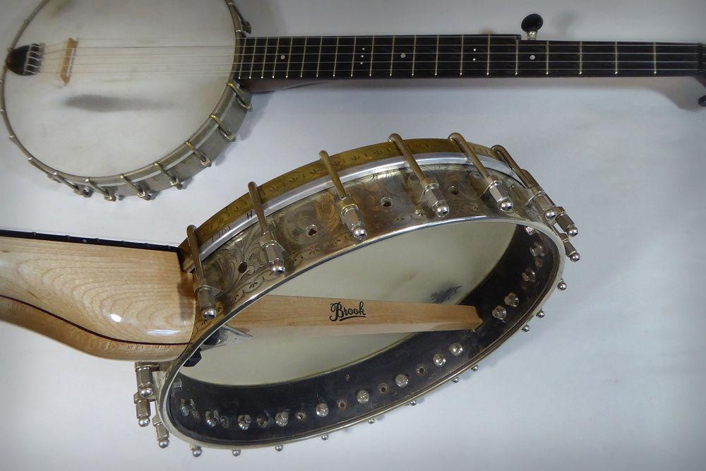 Rob's Brook Banjo maple neck