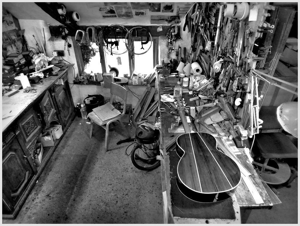 Brook Guitars Workbenches
