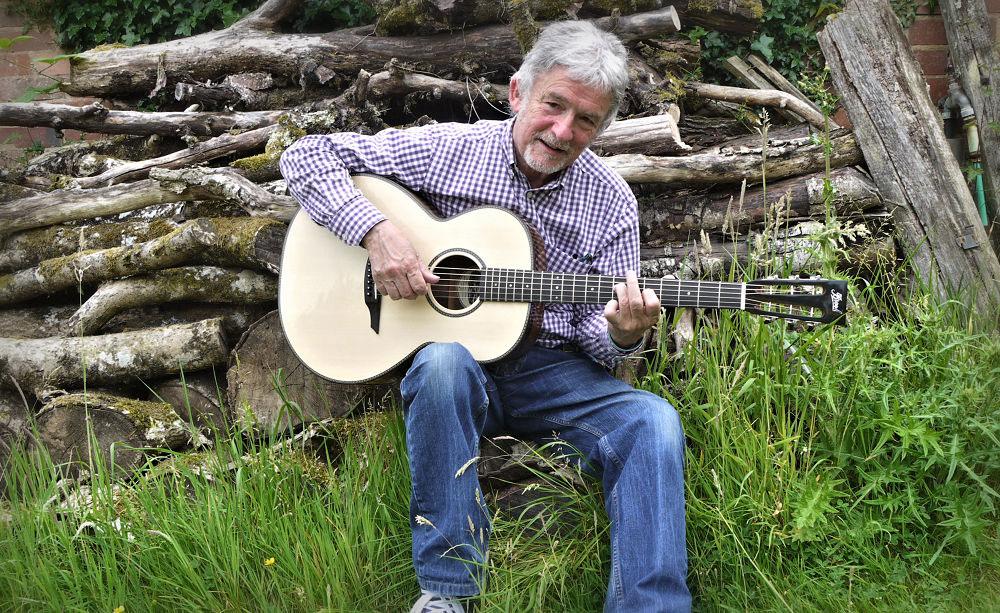 George at Brook guitars