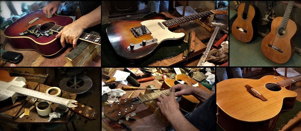 Brook Guitars Workshop Repairs