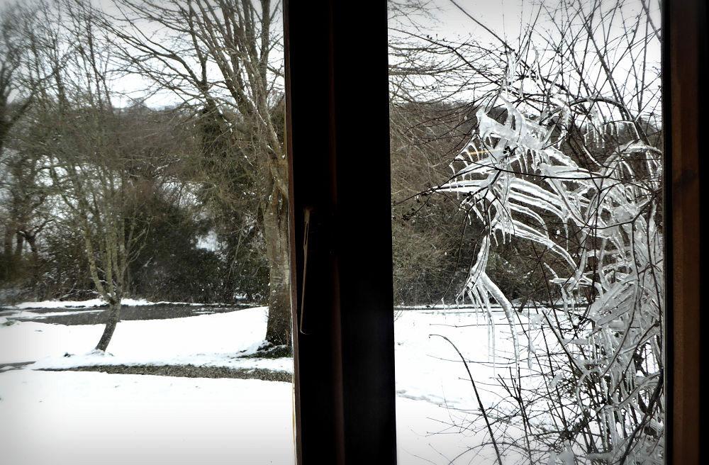 Brook Workshop in the Snow