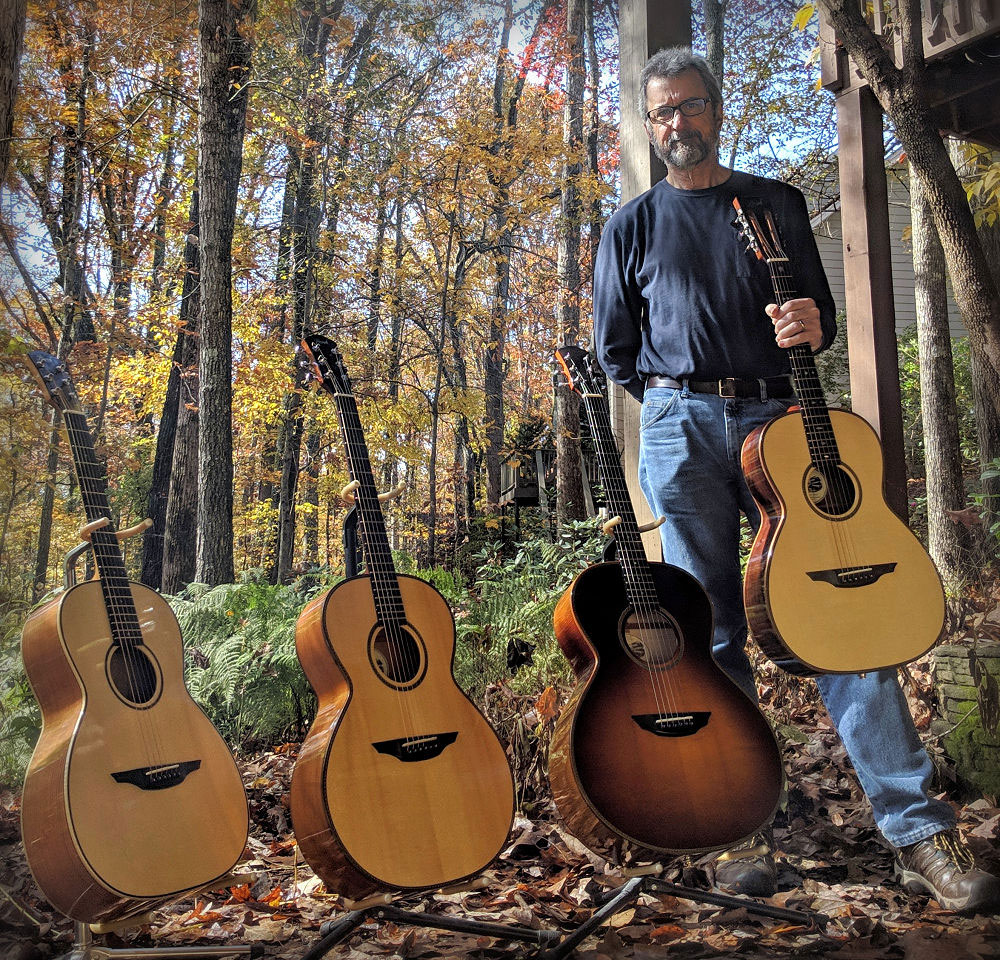 Brook Guitars collection in Atlanta