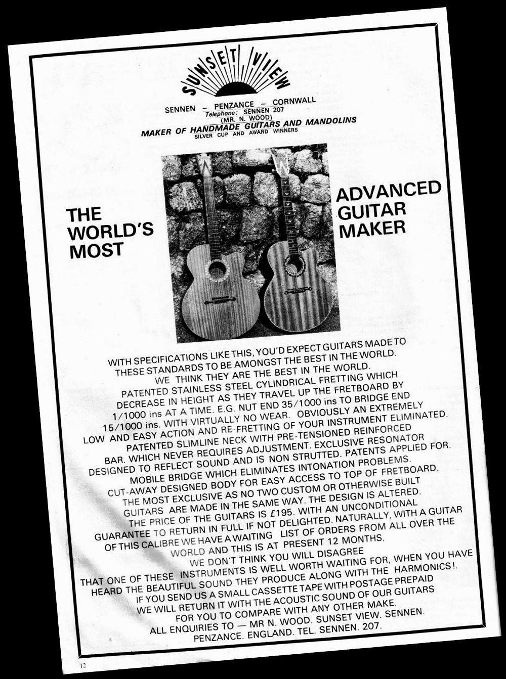 Norman Wood Advertisement
