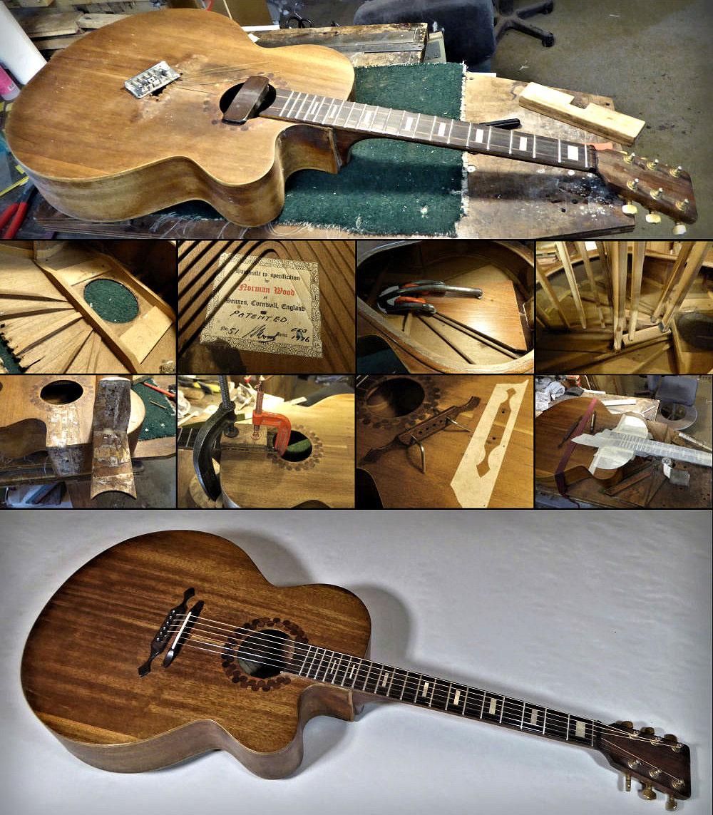 Brook Guitars Norman Wood Renovation