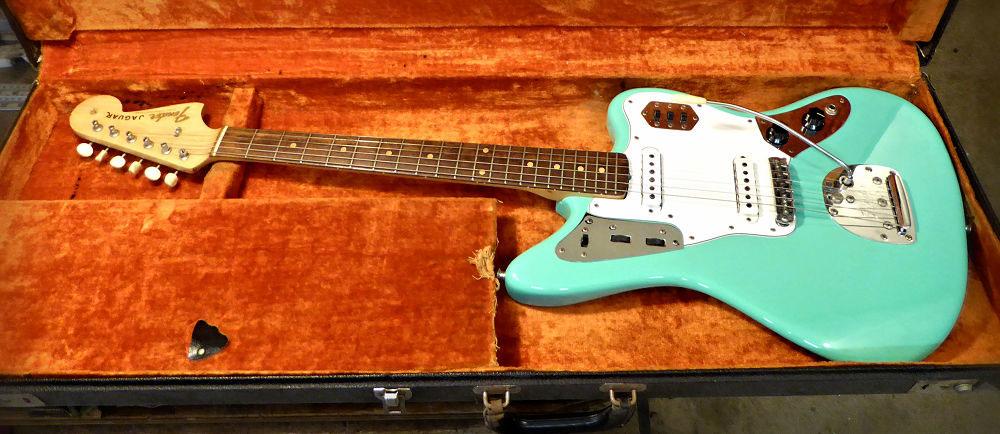 Brook Guitars Refinish on Fender Jaguar
