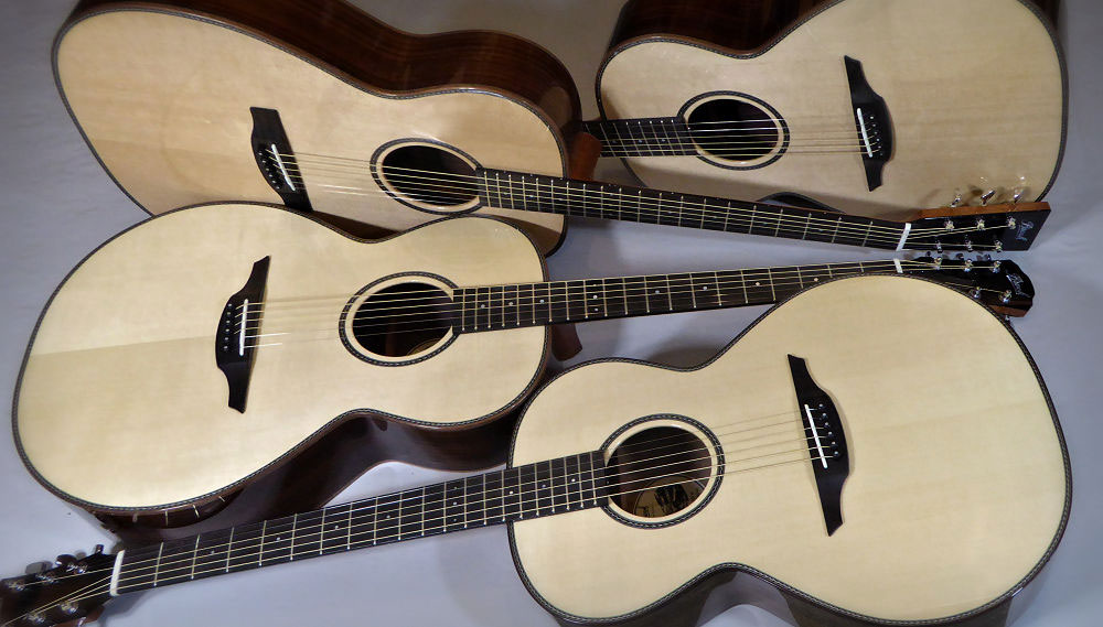 Four Brook Guitars for Project Music