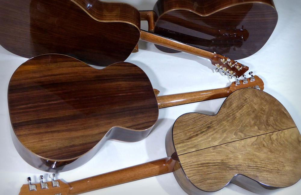 Four Brook Guitars Backs