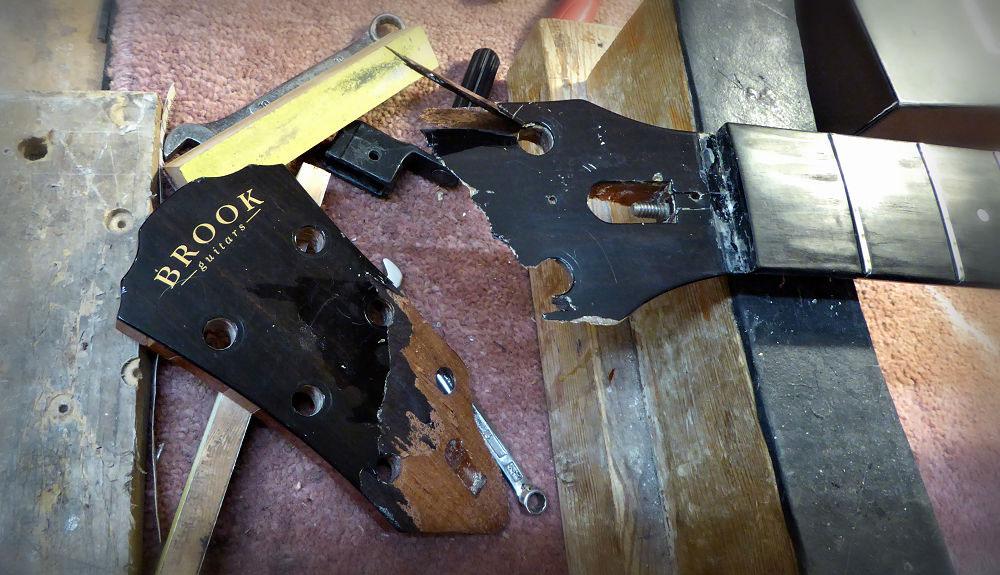 Brook headstock repair