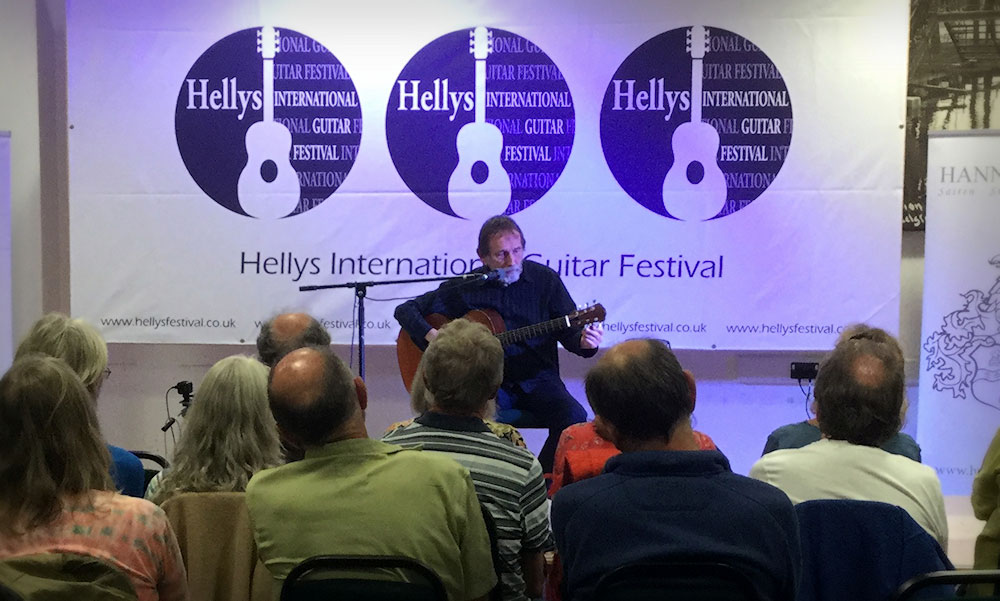 Pete Berryman at Hellys
