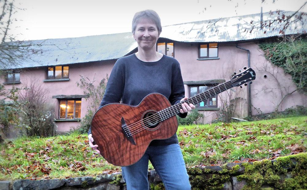 Julie and her Redwood Brook Torridge