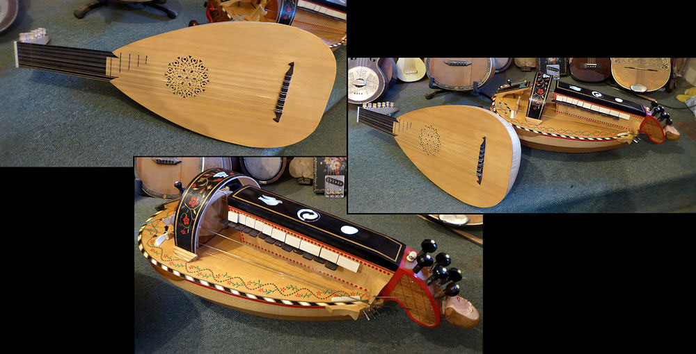 Hurdy Gurdy and Lute