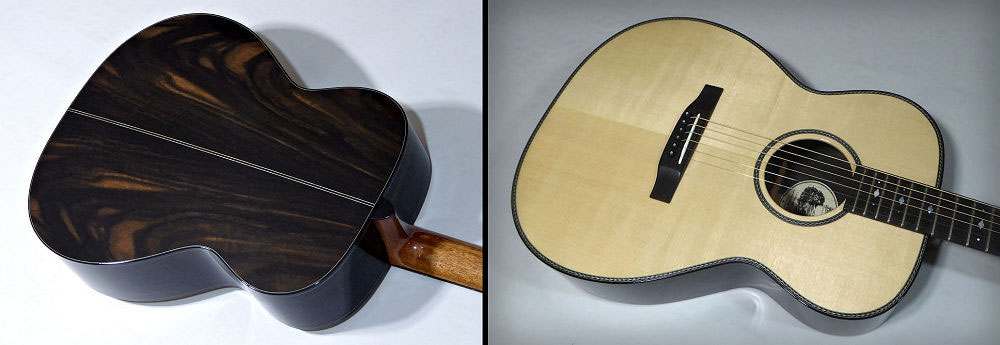 Brook Guitars Lamorna back and front