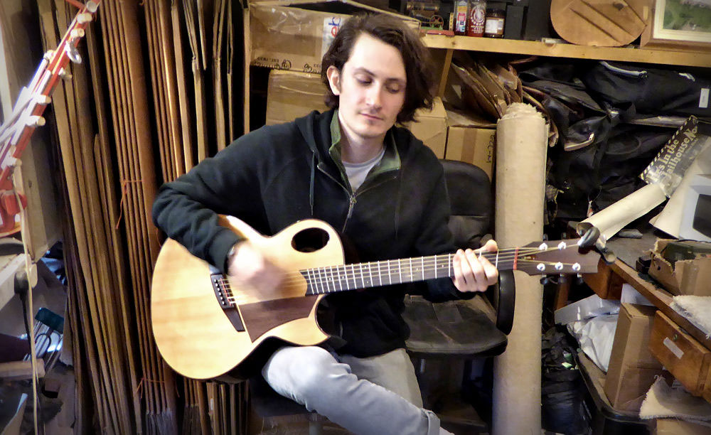 Jake at Brook Guitars