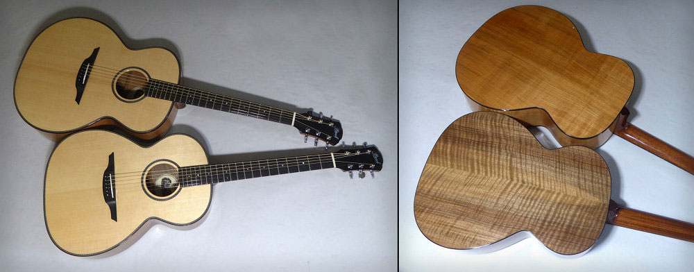 Two Brook Guitars for Project