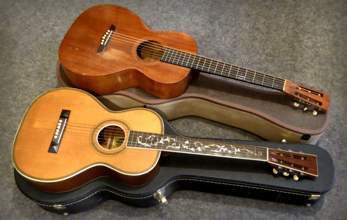 Two Vintage Guitars