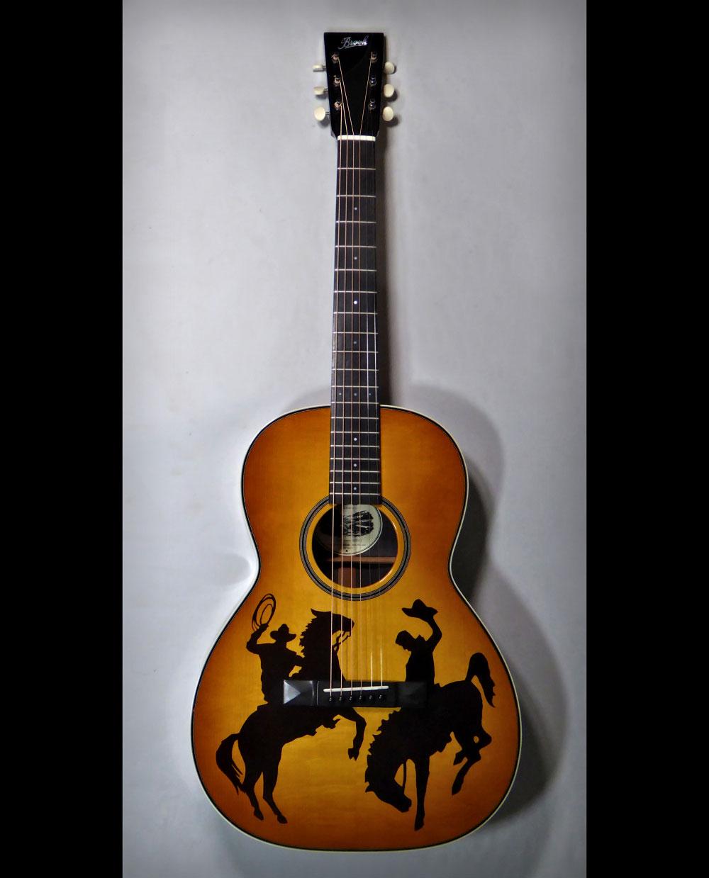 Brook Cowboy Guitar full length