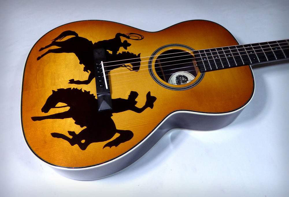 Brook Lyn Cowboy Guitar