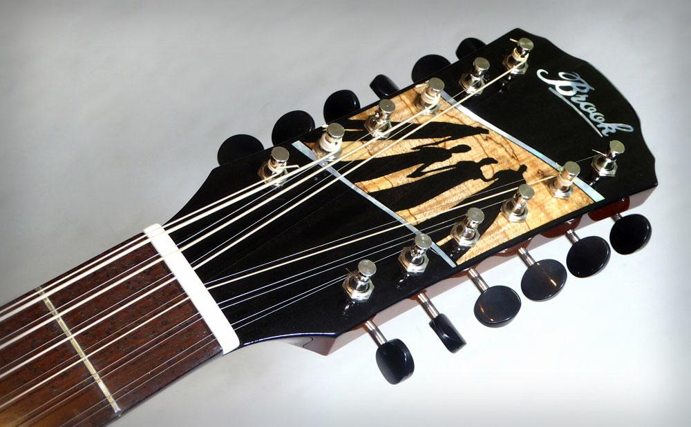 Adam's 12 string Brook Blackwater