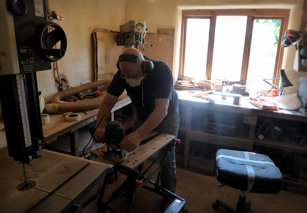 Andy Preparing Brook Necks