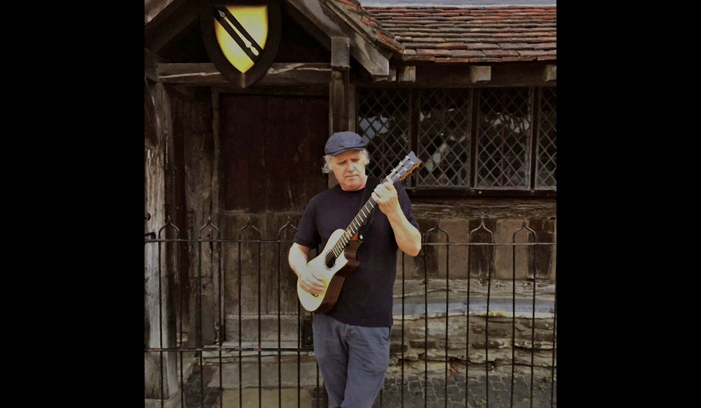 Tom Shultz in Stratford Upon Avon