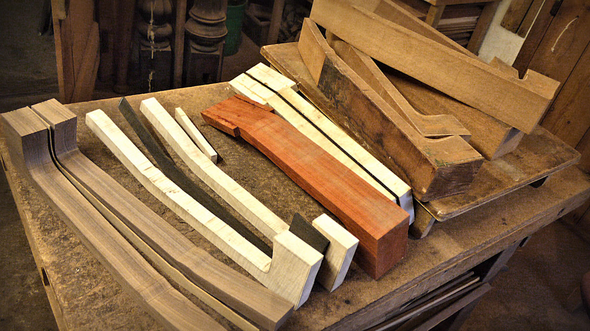 Brook Workshop Making Necks