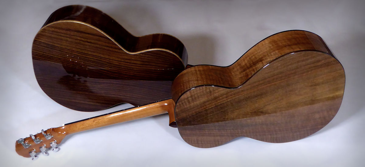 Rosewood and walnut Brook Taws