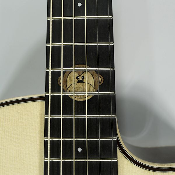 monkey inlay